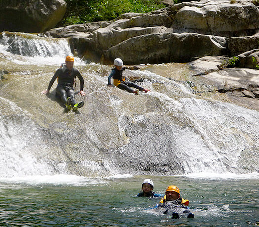 Canyoning Ardèche en famille